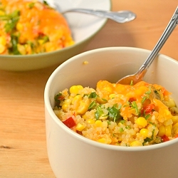 Thumbnail image for Summery Corn Quinoa Casserole
