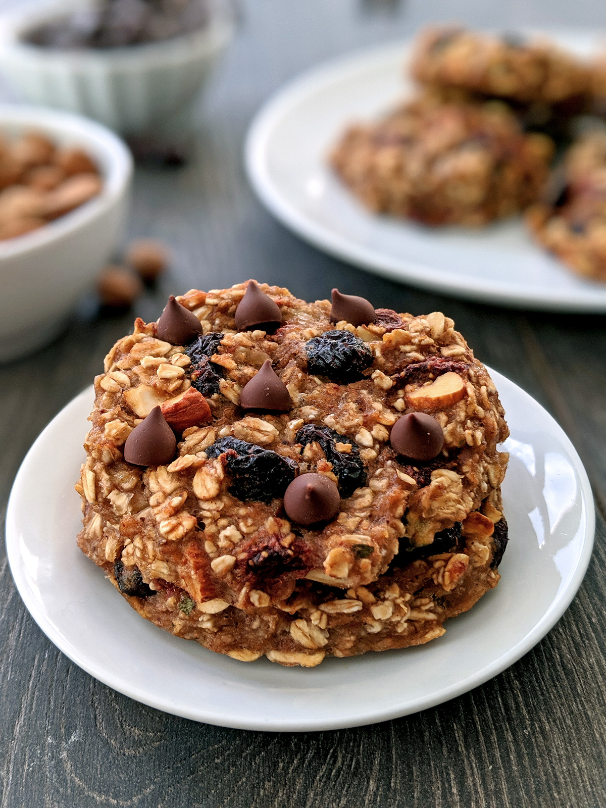 Healthy Breakfast Cookies (gluten-free, vegan)