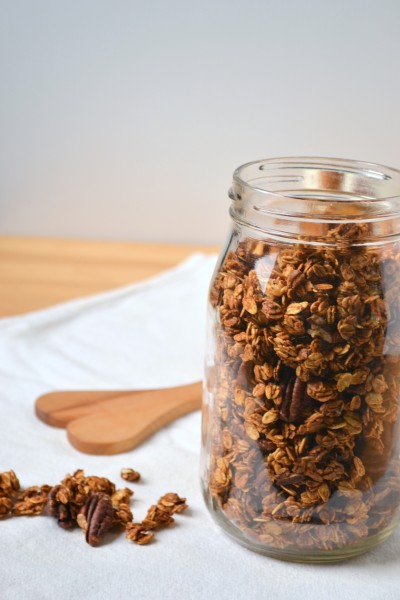 Pumpkin and Yogurt Parfaits with Pumpkin Spiced Granola