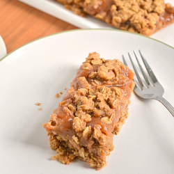 Thumbnail image for Chai Spiced Apple Butter Crumble Bars(Vegan)