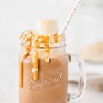 Chocolate Banana Protein Shake (gluten-free, vegan)