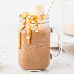 Chocolate Peanut Butter Shake (gluten-free, vegan)