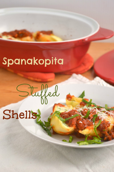 Spanakopita Stuffed Shells