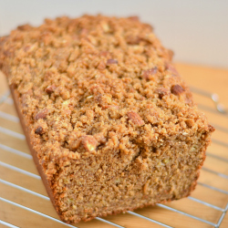 Thumbnail image for Roasted Banana Almond Butter Streusel Bread