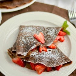 Thumbnail image for Whole Wheat Chocolate Crepes