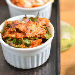 Thumbnail image for Roasted Red Pepper and Feta Pasta Bake