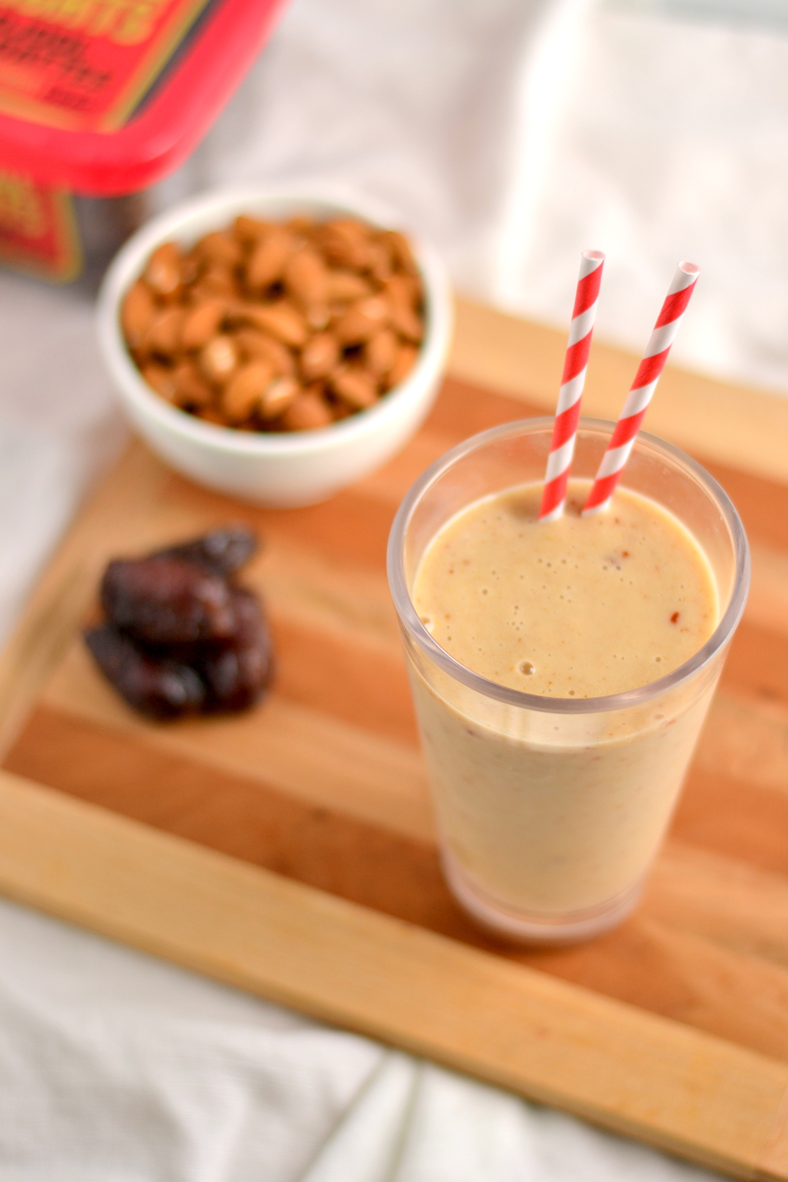 how to make a healthy date shake