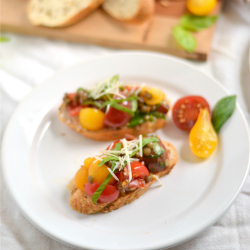 Thumbnail image for Lentil Bruschetta