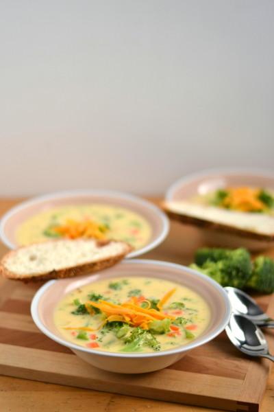 Cheddar Broccoli Soup Image