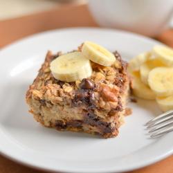Thumbnail image for Banana Chocolate Chip Baked Oatmeal