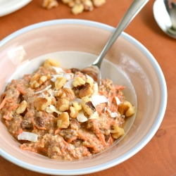 Thumbnail image for Carrot Cake Overnight Oats