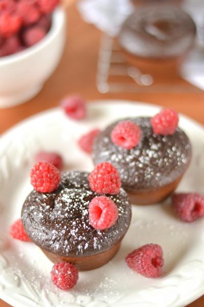 Chocolate Black Bean Cupcakes Image