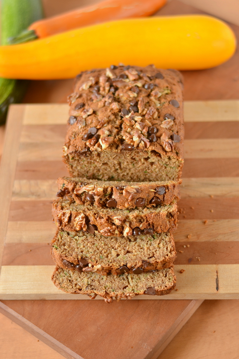 100 whole wheat zucchini bread  food doodles