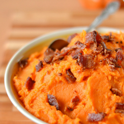 Thumbnail image for Mashed Sweet Potatoes with Bacon