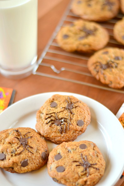 Creepy Whole Wheat Chocolate Chip Cookies Image