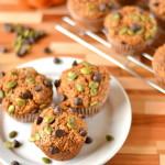 Pepita Chocolate Chip Pumpkin Muffins