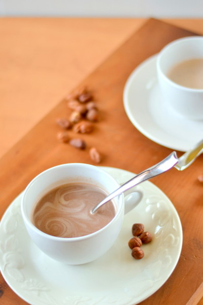 Protein Nutella Hot Chocolate Image