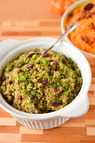 Naturally Gluten Free Quinoa Stuffing Image
