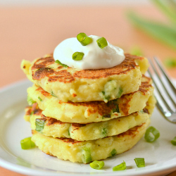 Thumbnail image for Potato Pancakes with Leftover Mashed Potatoes