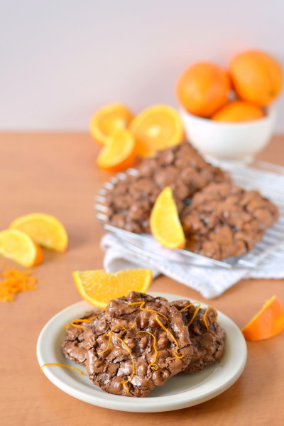 chocolate-orange-flourless-puddle-cookies-2