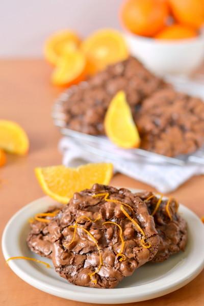 chocolate-orange-flourless-puddle-cookies-3