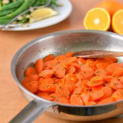 Thumbnail image for Honey Orange Glazed Carrots