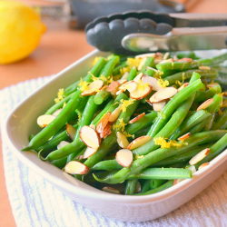 Thumbnail image for Lemon Butter Green Beans with Almonds