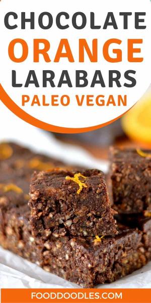 Chocolate Orange Larabars