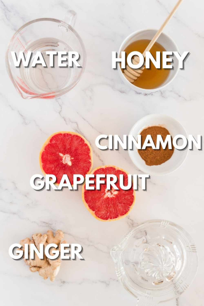 Grapefruit Tea Ingredients