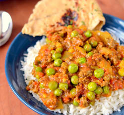Thumbnail image for Keema – Indian Spiced Ground Meat with Peas