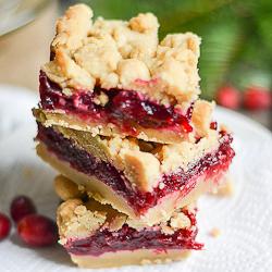 Thumbnail image for Cranberry Shortbread Bars