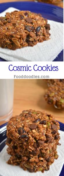 Cosmic Cookies (Whole Grain, Vegan and Nut-Free)