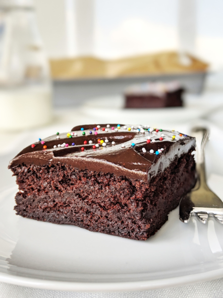 Healthy Chocolate Cake Food Doodles