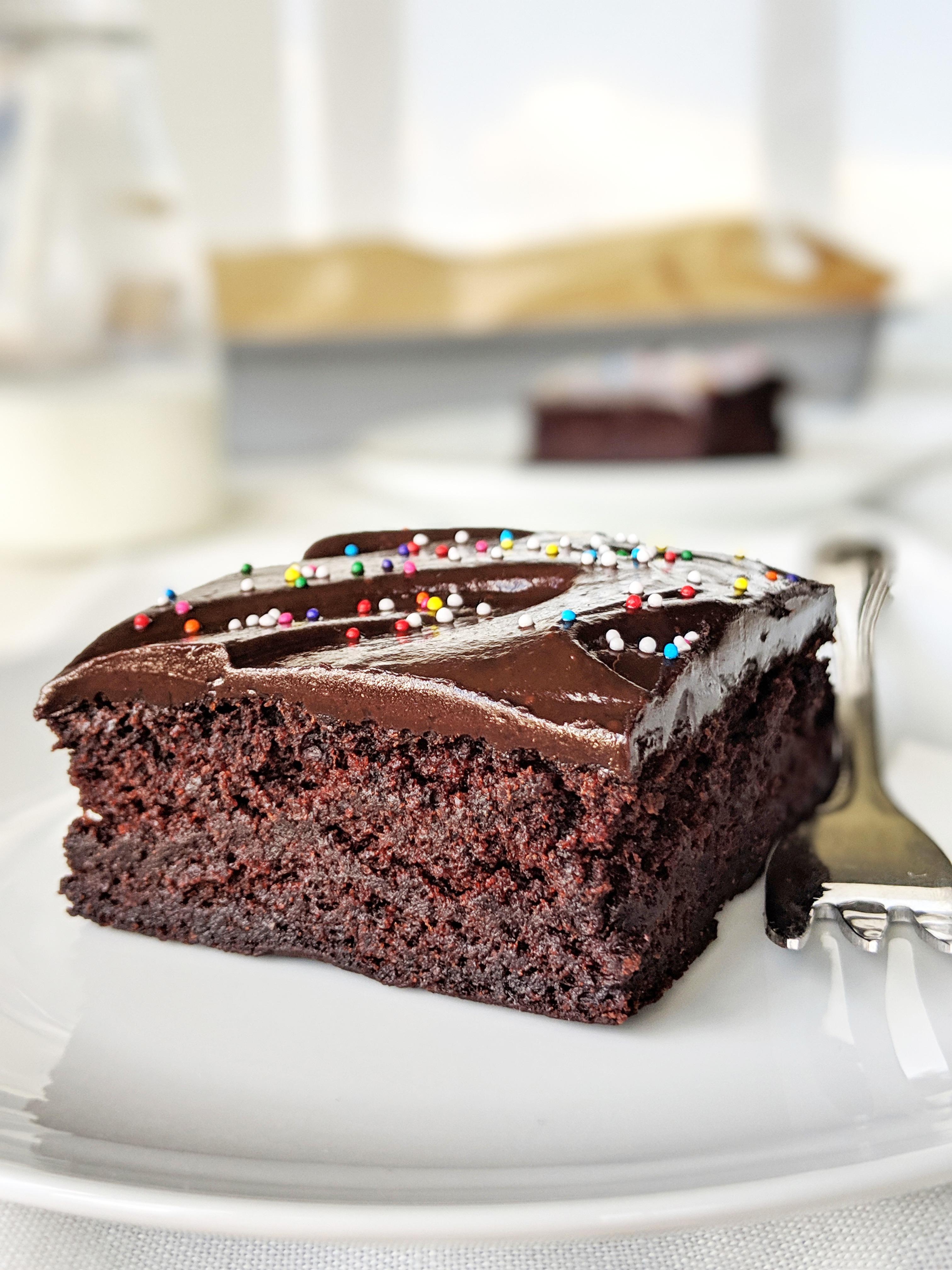 Prime Healthy Chocolate Cake Food Doodles Personalised Birthday Cards Veneteletsinfo