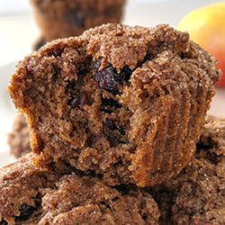 These healthy applesauce muffins are fluffy, moist and delicious. They also have vegan, whole wheat and gluten-free options.