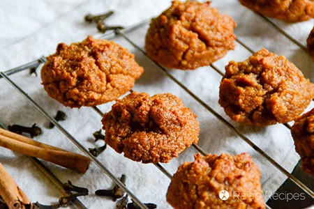 Spiced Paleo Sweet Potato Cookies