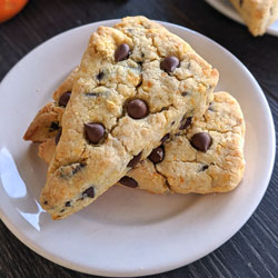 Chocolate Orange Scones