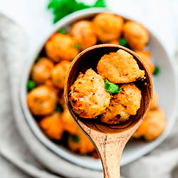 Paleo Chicken Meatballs