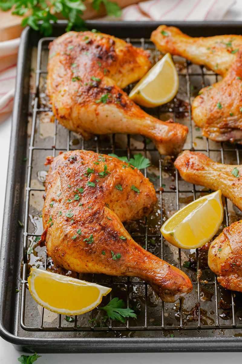 Chicken Leg Quarters Recipe Food Doodles