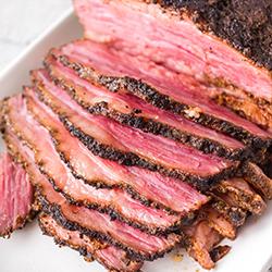 Sliced Smoked Corned Beef