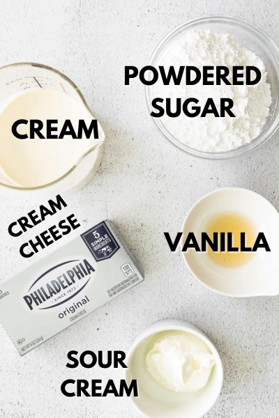 cheesecake mousse ingredients