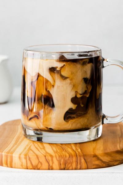 cup of pumpkin cold brew