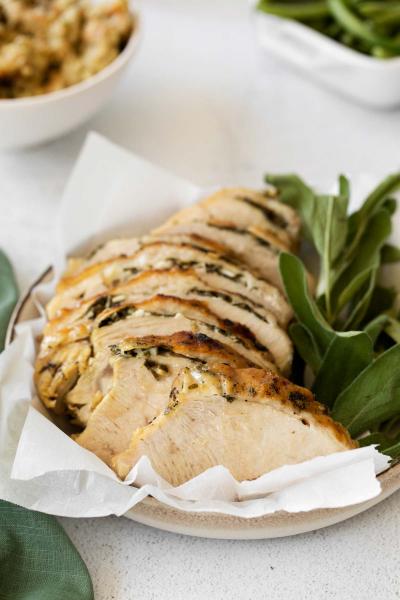 sliced instant pot turkey breast
